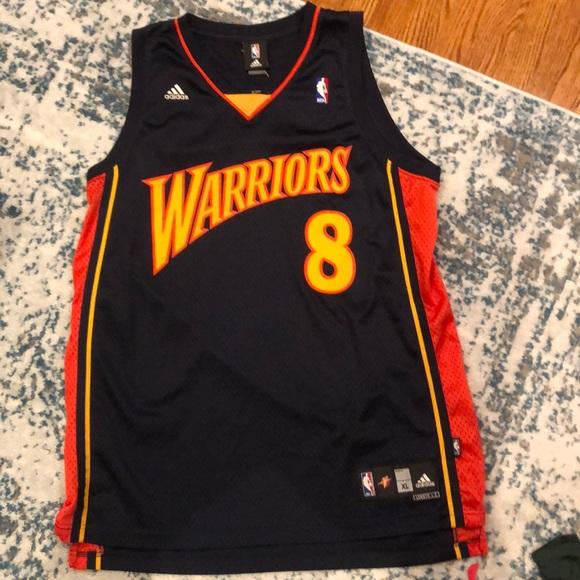 low priced 78ad2 3da4d Golden State Warriors Monta Ellis Adidas Jersey